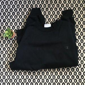 Black Champion Sweatshirt Sz M